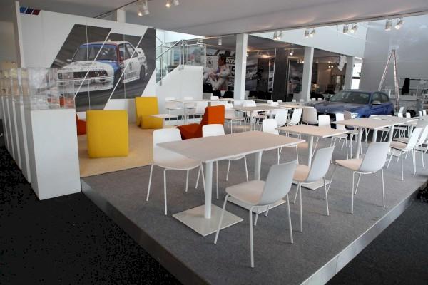 Temporäre Räume BMW Motorsports