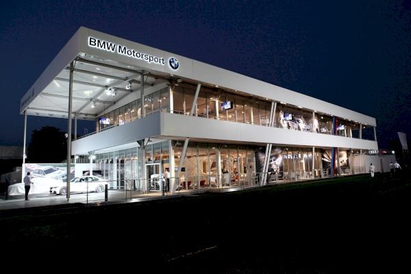Temporärer Raum BMW DTM
